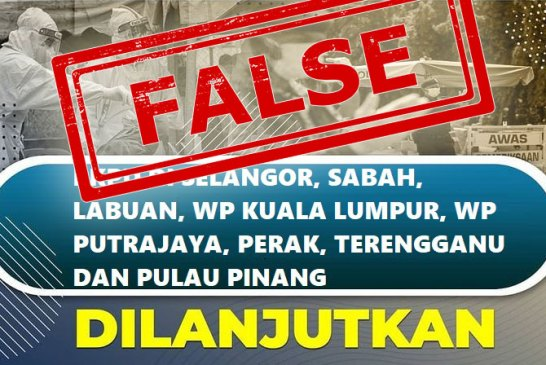 Fact Check : PKPD In Malaysia Extended To 3 January 2021?