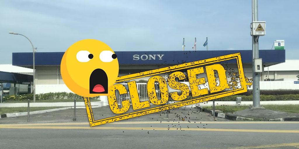 Sony PG Tec Facility Will Close By September 2021!