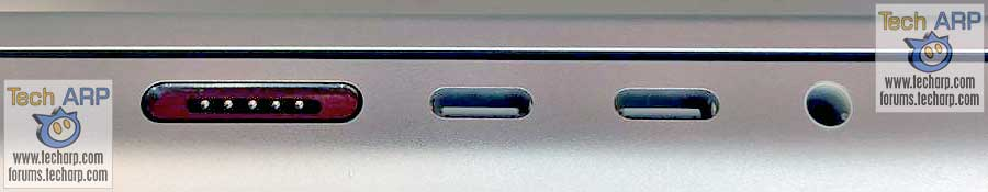 2021 Apple MBP left ports