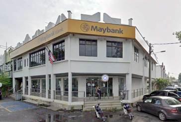 Maybank Taman Malim Jaya Closed After COVID-19 Case!