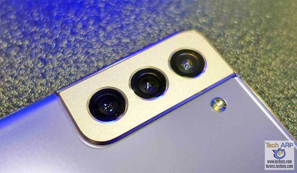 Samsung Galaxy S21 Plus rear cameras preview