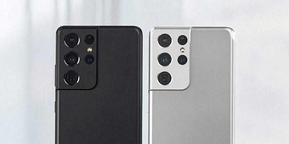 Samsung Galaxy S21 Ultra Colour Comparison!