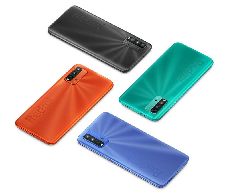 Xiaomi Redmi 9T colour options