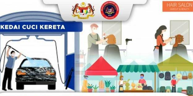 Malaysia MCO 2.0 : Hair Saloons + Car Washes Now Allowed!