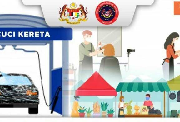 Malaysia MCO 2.0 : Hair Saloon + Car Wash Now Allowed!
