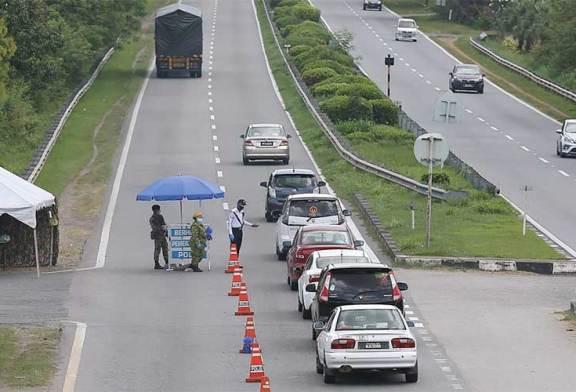 Travel Restriction : Johor, Melaka, Negeri Sembilan District List
