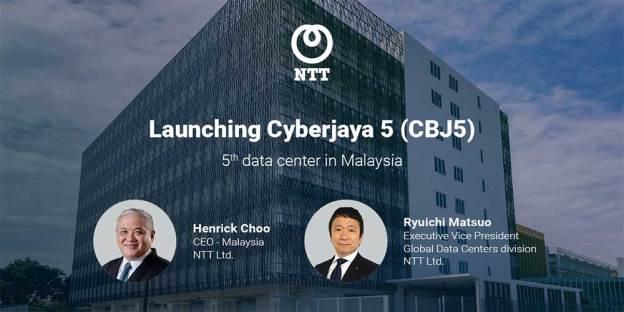 NTT Launches Fifth Data Center In Malaysia - Cyberjaya 5!