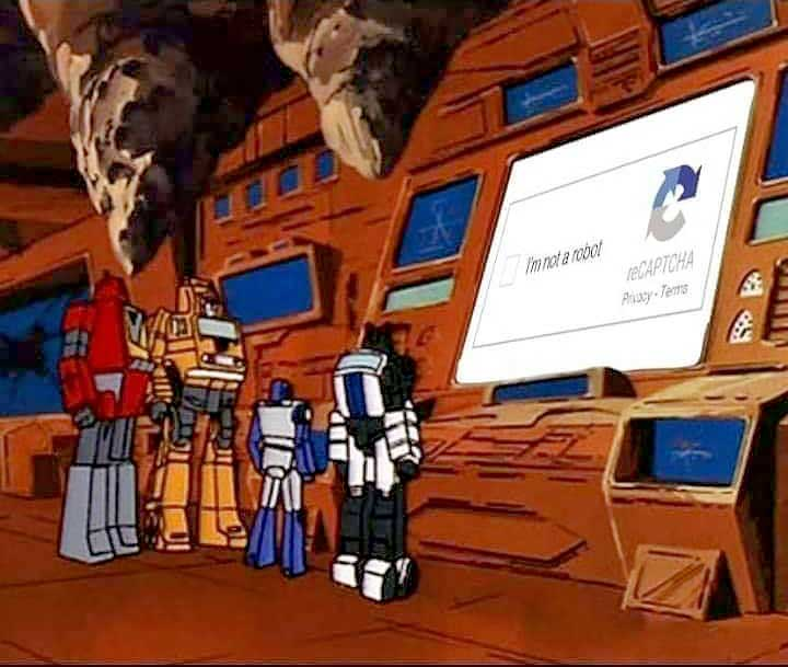 Robot CAPTCHA