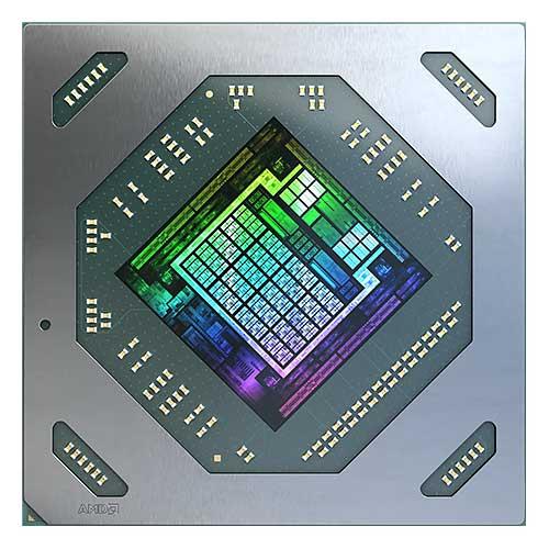 AMD Radeon RX 6700 XT die