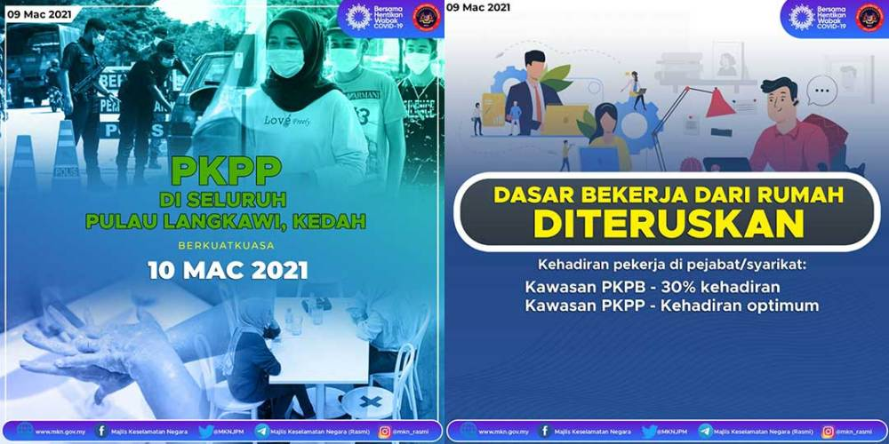 MKN : CMCO + RMCO SOP Changes On 9 March 2021!