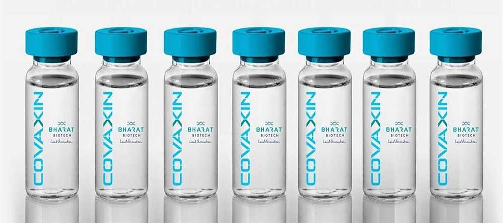 Covaxin vaccine vials