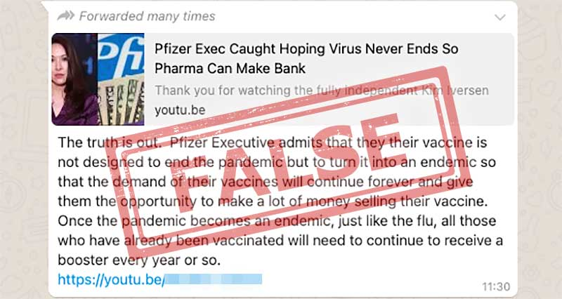 Was Pfizer Vaccine Designed To Make COVID-19 Endemic?
