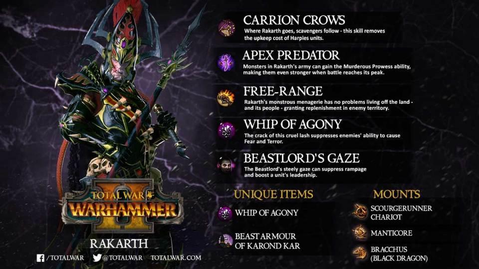 Rakarth : Get This FREE Warhammer 2 Legendary Lord!