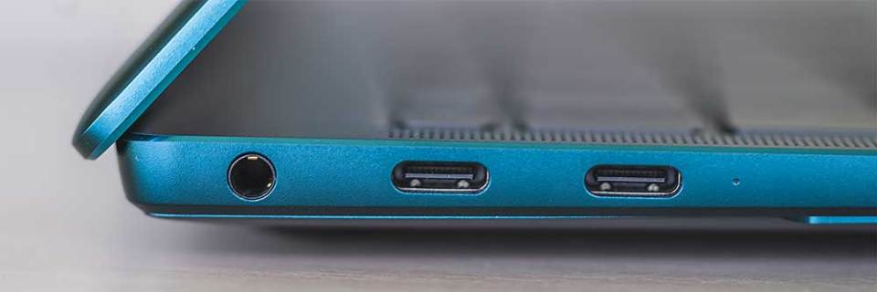 2021 HUAWEI MateBook X Pro laptop left side