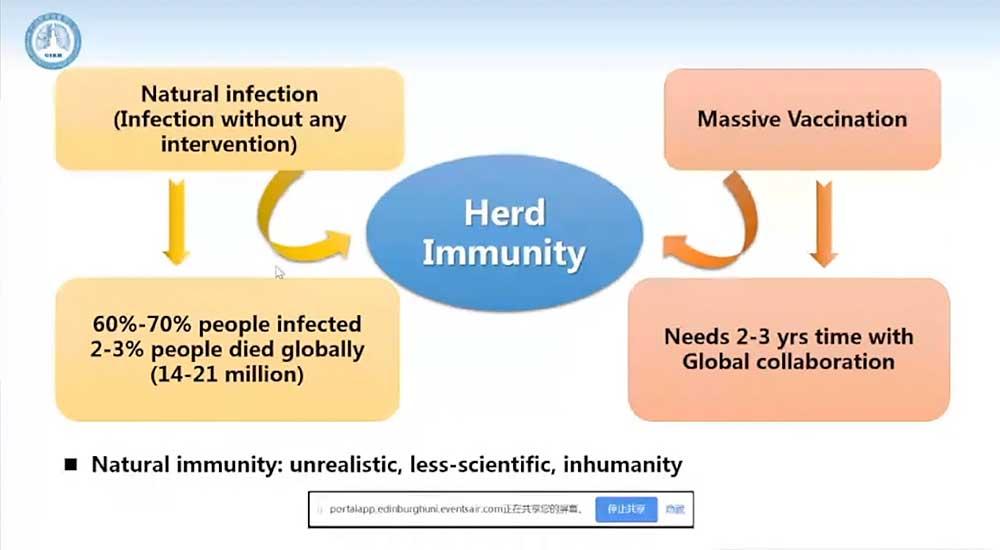 Natural Immunithy Zhong Nanshan