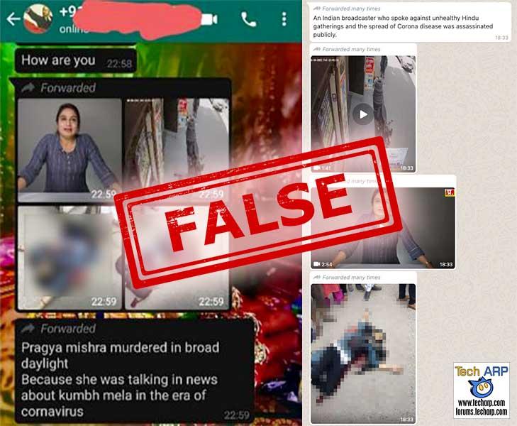 Was Pragya Mishra Killed Over COVID-19 Comments?