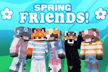 Spring Friends for Minecraft : FREE For A Limited Time!