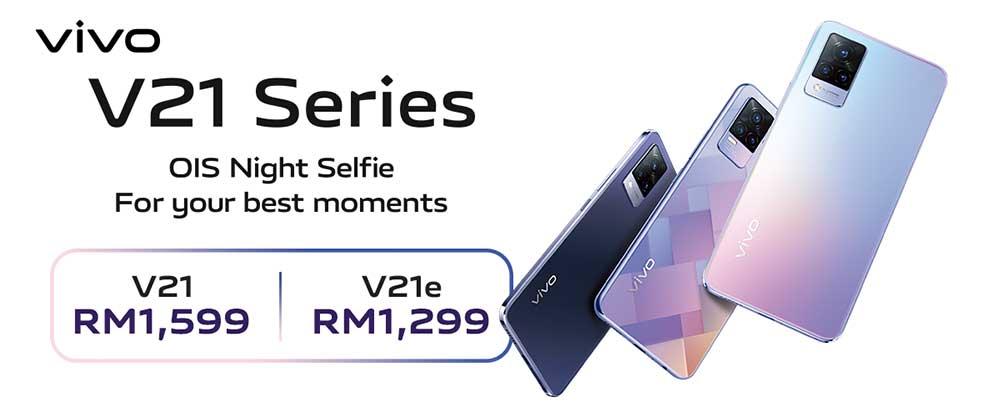 vivo V21 series price list