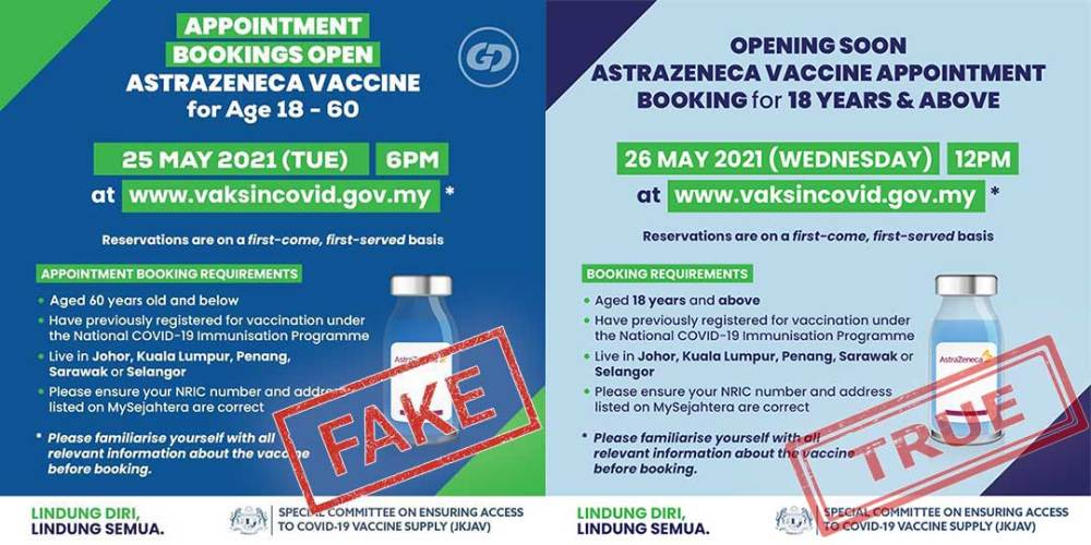 AstraZeneca 2.0 (Below 60) : Register From 26 May Onwards!