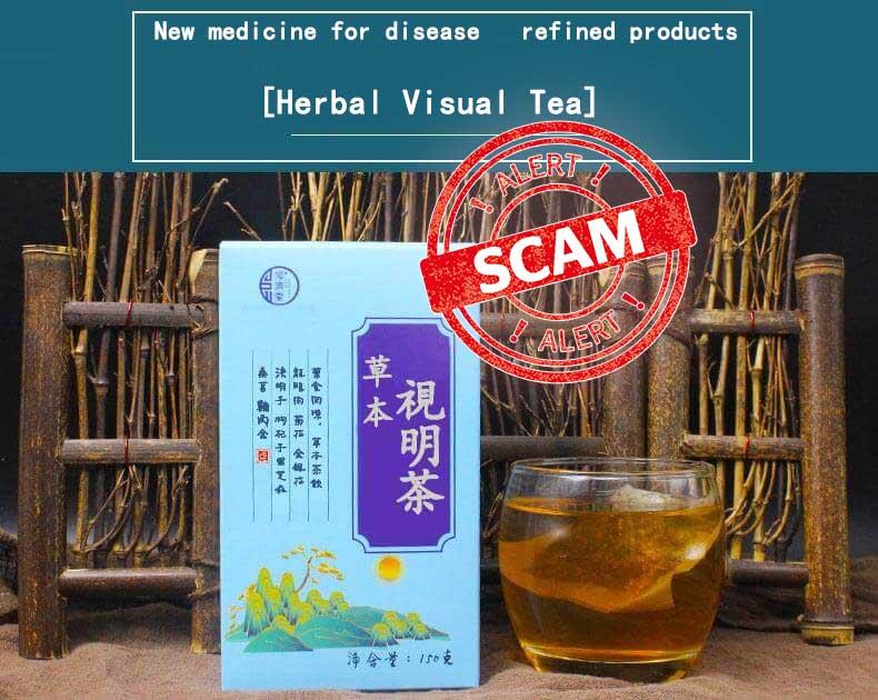 Herbal Visual Tea scam