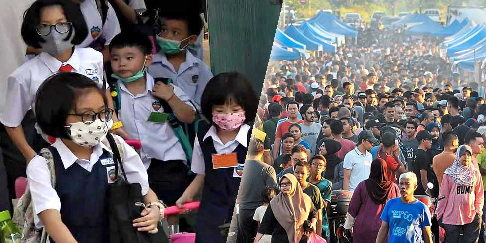 Selangor Shuts Down Schools + Ramadan Bazaars!