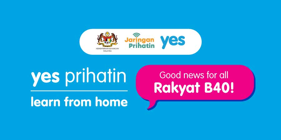 YES PRIHATIN : FREE Phone, Data + Education For B40!