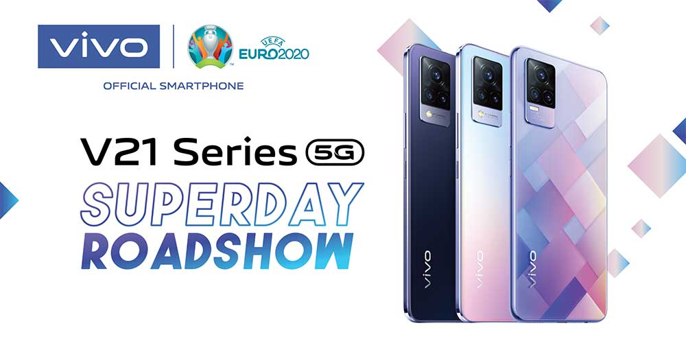 vivo V21 Series Superday Roadshow Deals!