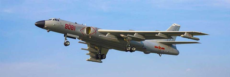 Xian H-6K bomber