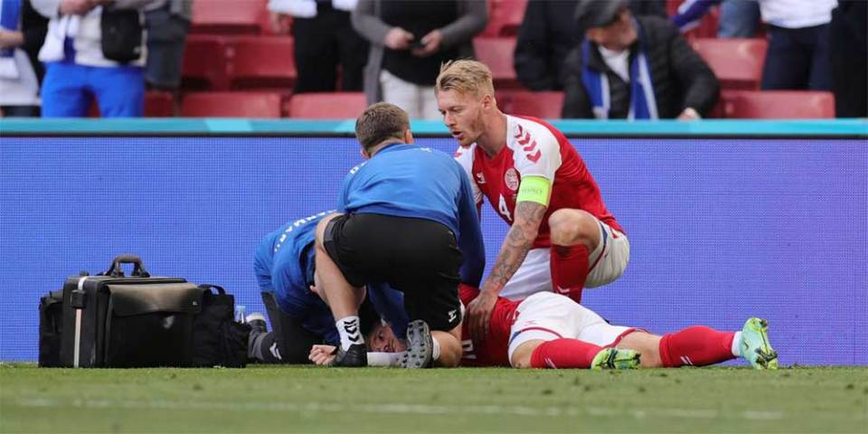 Did Christian Eriksen Collapse After Receiving Pfizer Vaccine?