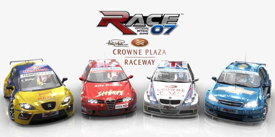 Race 07 Andy Priaulx Crowne Plaza Raceway free DLC
