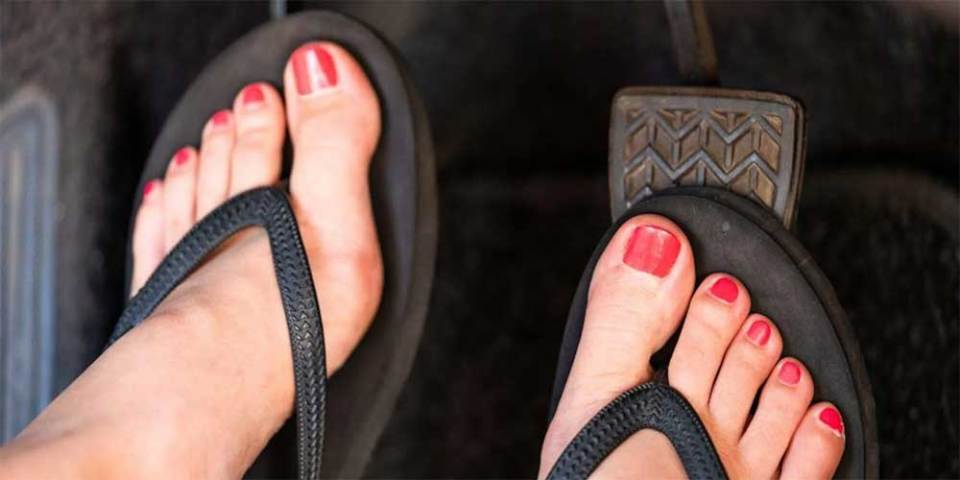 Can You Wear Slippers While Driving In Malaysia?