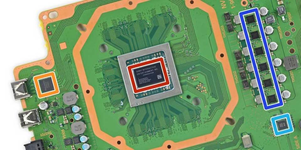 PlayStation 4 motherboard
