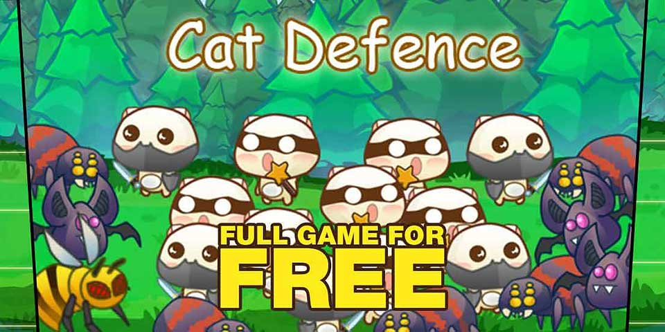 Cat Defense : Get It FREE For A Limited Time!