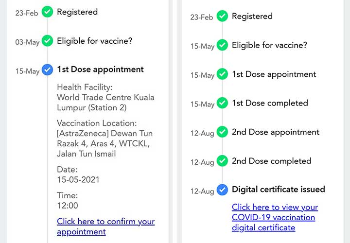 How To Delete + Migrate Vaccine Dependent In MySejahtera?
