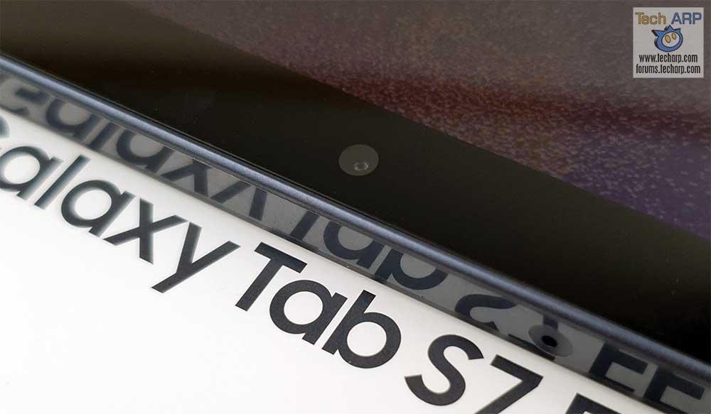 Samsung Galaxy Tab S7 FE front camera