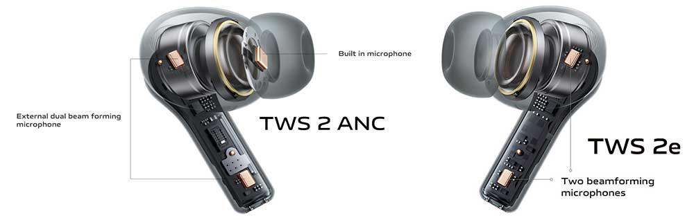vivo TWS 2 TWS 2e inside