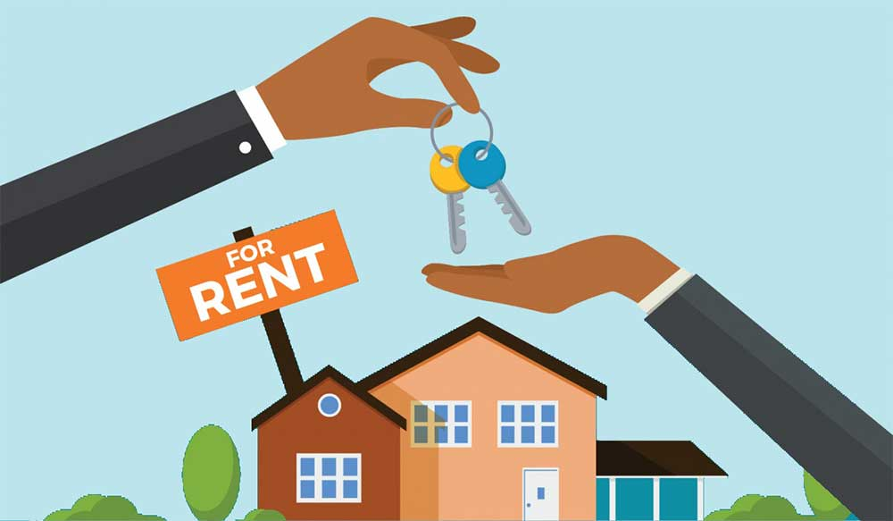 House rental landlord tenant