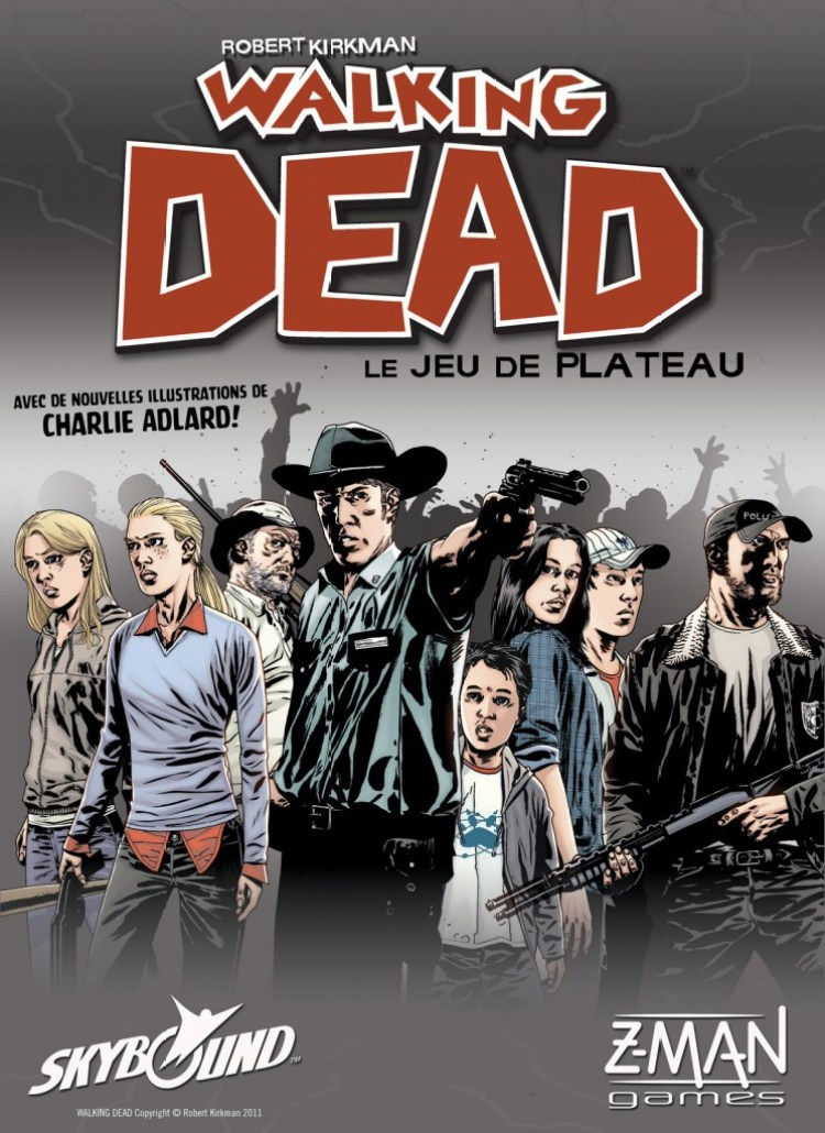 the walking Dead le jeu de plateau