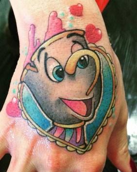 Ainhoa Ink geek best of tattoo belle bete disney