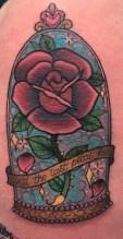 Alex Rowntree geek best of tattoo belle bete disney