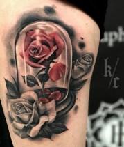 Kendoo Caviedes geek best of tattoo belle bete disney