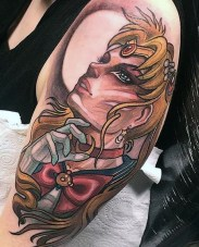 Isnard Barbosa geek best of tattoo sailor moon