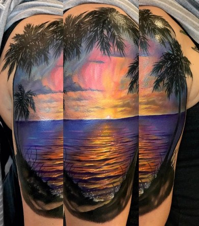 Joshula Griswald best of tattoo geek beach