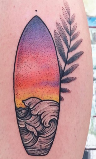 Mariya Summer best of tattoo geek beach
