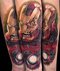 Tony Sklepic best of tattoo iron man