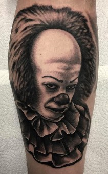 Andy Jc Tattoos best of tattoo it ca pennywise clown horror movie float
