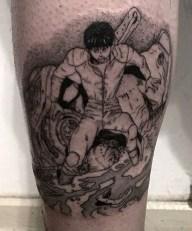 Eduardo Saa Castro best of tattoo geek akira