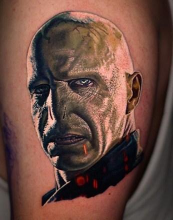 Nikko Hurtado Best of Tattoo Harry Potter