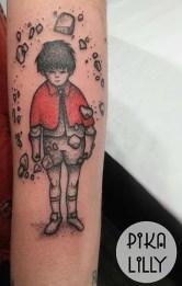 Pika Lilly best of tattoo geek akira