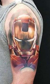 Rock'n'Roll Tattoo Dundee best of tattoo iron man